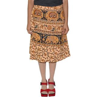 Gurukripa ShopeePrinted Women's Wrap Around Skirts  GKSWCK-A0286