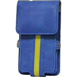 Jojo Holster for Nokia X2 00 (Dark Blue, Parrort Green)