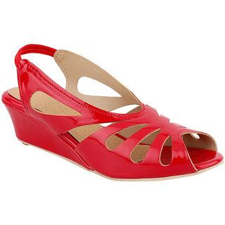 SINDRELLA STEPS Women's Red Sandals