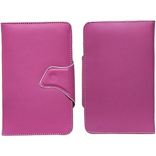 Jojo Book Cover for Spice Mobiles Mitab Mi 720 (Pink)