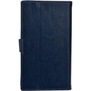Jojo Wallet Case Cover for Samsung Galaxy Note II (Dark Blue, Dark Blue)