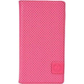 Jojo Flip Cover for Swingtel Superb (Pink, Blue)