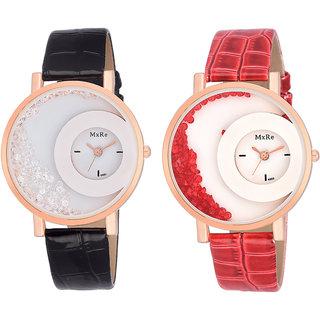 fonce ladies fancy watch set of 2 buy fonce ladies