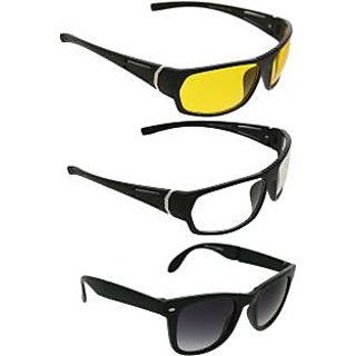 de908555e4 Buy women men 3 stylish sunglasses combo Online - Get 42% Off