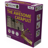 Secret Lab Of Wooden Machines - The Awesome Catapult