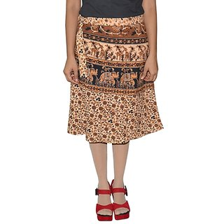 Gurukripa ShopeePrinted Women's Wrap Around Skirts GKSWCK-A0290