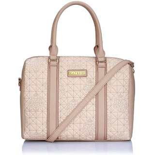 Caprese Erykha Satchel Large Soft Peach