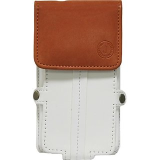 Jo Jo Pouch for Lenovo K3 (White Orange)