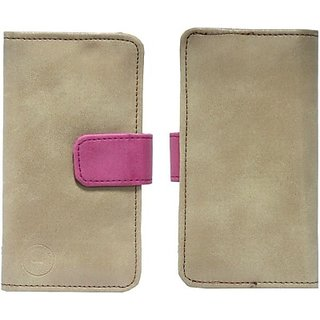 Jojo Pouch for LG G Vista (CDMA) (Tan, Pink)