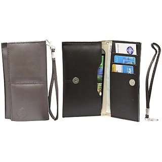 Jojo Pouch for HTC One (M8) CDMA (Brown)