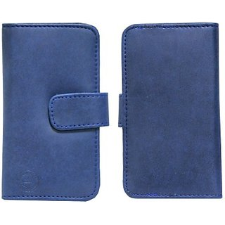Jojo Pouch for Micromax Canvas Duet II (Dark Blue)