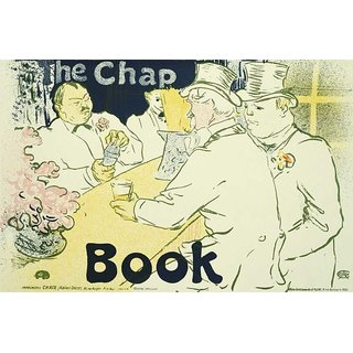 Reproduction Of A Poster Presenting - The Chap Book - A3 Poster Prints Online Buy