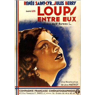 Reproduction Of A Poster Presenting - 1936Loupsentreeux - A3 Poster Prints Online Buy