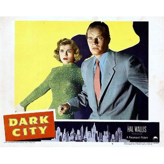Reproduction Of A Poster Presenting - Dark City 2 - A3 Poster Prints Online Buy