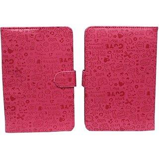 Jojo Flip Cover for Prestigio Multipad 7.0 Hd (Pink)
