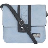 ESBEDA Light Blue Color Solid Slingbag For Womens 1459