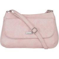 ESBEDA Light Pink Color Quilted Slingbag For Womens 1467