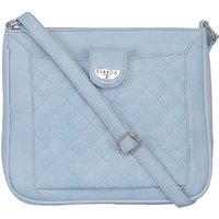 ESBEDA Light Blue Color Quilted Slingbag For Womens 1470