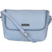 ESBEDA Light Blue Color Solid Slingbag For Womens 1486