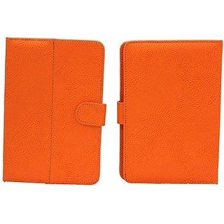 Jojo Book Cover for Celkon Ct 2 (Orange)