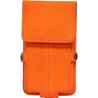 Jojo Holster for Micromax Bolt A27         (Orange)