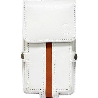 Jojo Holster for Meizu M2 Note         (White, Orange)