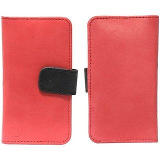 Jojo Flip Cover for Sony Xperia Z1 C6902/L39h         (Red Black)