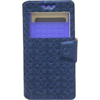 Jojo Flip Cover for Samsung Galaxy Note 3 Neo LTE+ SM-N7505         (Dark Blue)