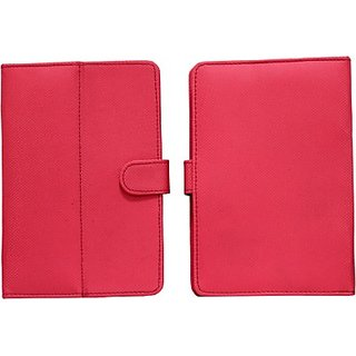 Jojo Flip Cover for Prestigio Multipad 7.0 Ultra Duo         (Light Pink)