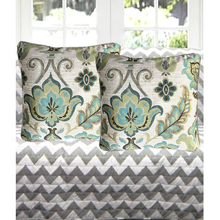Tanya'S Homes Designer Cushions Covers -Silk Made Covers With Standard Size Of 16Inchx 16Inch