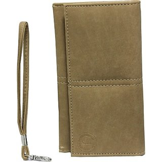 Jojo Wallet Case Cover for Samsung Galaxy Mega 6.3         (Beige)