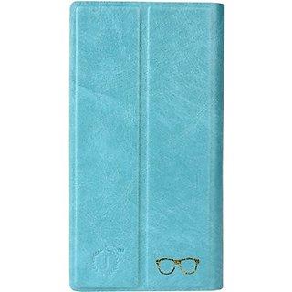 Jojo Wallet Case Cover for Lenovo P70         (Light Blue)