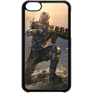 Unique Customise Design of call of duty5 for Apple iPhone 5C