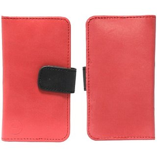 Jojo Pouch for Samsung Galaxy Ace         (Red, Black)