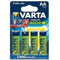 Varta Longlife Accu AA Size Ni-MH 2100 MAH (4 Pcs) Rechargeable Battery