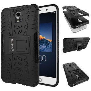 Lenovo ZUK Z1  Case - Nabster Pixel Rugged Hybrid Armor Case Shockproof Case Protector with Kickstand For ZUK Z1 - Black