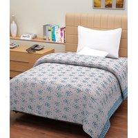 100% Cotton Pack Of 2 Designer Top Sheet Cum Bed Sheet - 4 Option