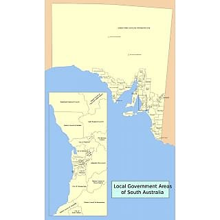 Buy Map Of Australia.Buy Vinteja Charts Of Australian Local Government Map South