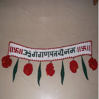 Handmade door hanging woolen toran & Handmade door hanging woolen toran: Buy Handmade door hanging ... pezcame.com