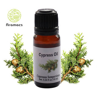 Cypress Essential Oil Pure and Natural Therapeutic Grade 10 ML