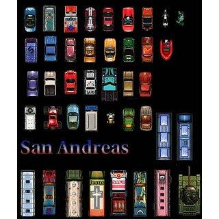 Vinteja Charts Of - Gta Sa Cars - A3 Poster Print
