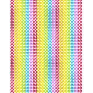 Vinteja Charts Of - Lucky Star Template B - A3 Poster Print