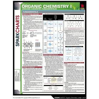 Vinteja Charts Of - Organic Chemistry I A - A3 Poster Print