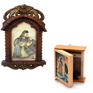 Buy Jharokha Photo Frame n Get Key Holder Box Free