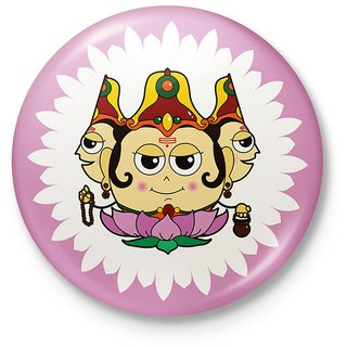 Lord Brahma Decorative Unique Fridge Magnet Gift 119