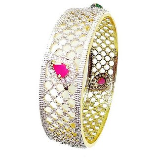 Trisha Jewels 24K Gold Plated Bangle(GBJ-1192/10)