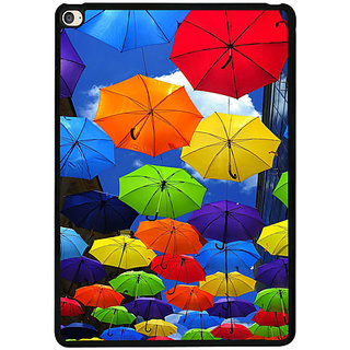 Casotec Colorful Umbrellas Design 2D Printed Hard Back Case Cover for Apple iPad Air 2