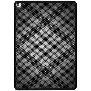 Casotec Black Stripes Pattern Design 2D Printed Hard Back Case Cover for Apple iPad Air 2
