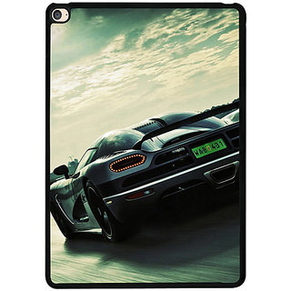Casotec Sports Racing Design 2D Printed Hard Back Case Cover for Apple iPad Air 2