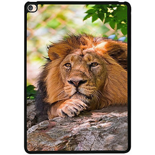 Casotec Tiger Pattern Print Design 2D Printed Hard Back Case Cover for Apple iPad Air 2